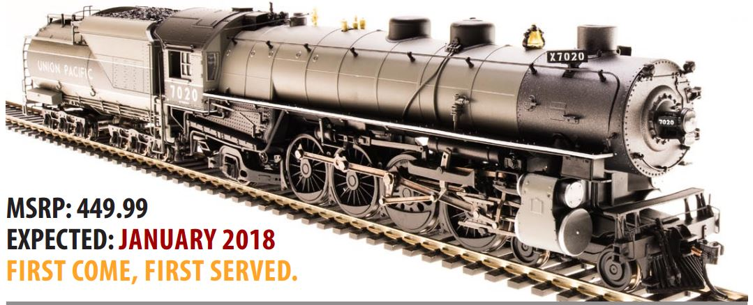 HO Scale UP MT Class 4 8 2